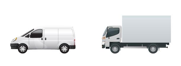 parcel trucks